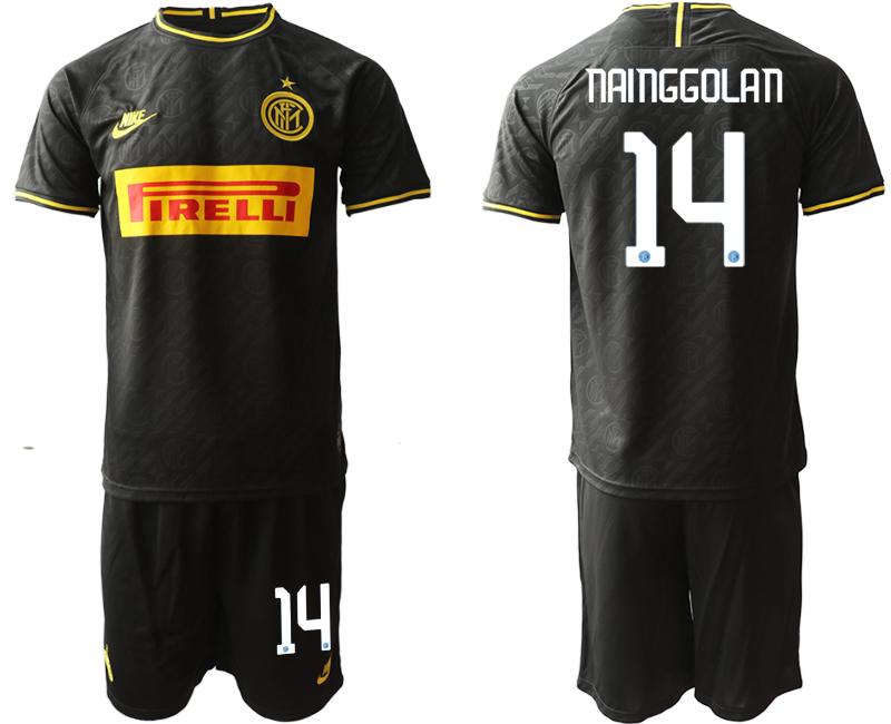 2019-20 Inter Milan 14 NAINGGOLAN Third Away Soccer Jersey