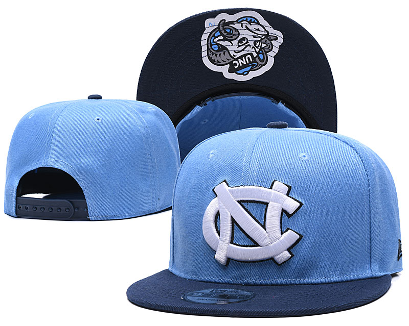 North Carolina Tar Heels Team Logo Blue Adjustable Hat GS