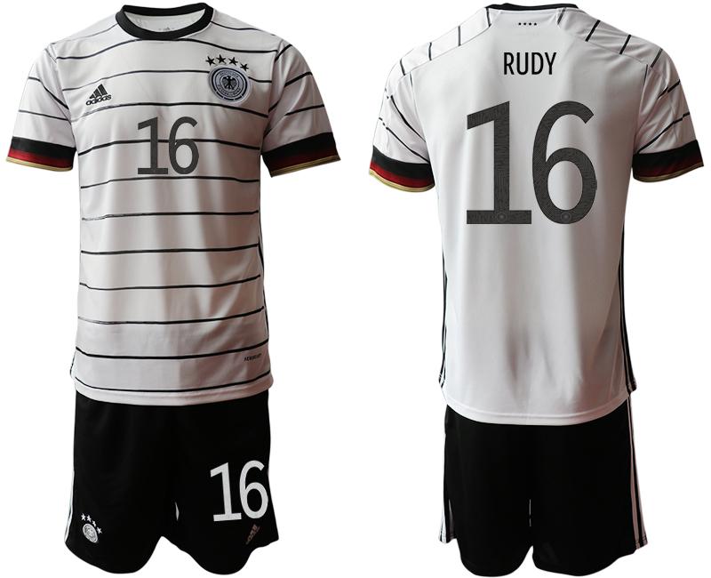 Germany 16 RUDY Home UEFA Euro 2020 Soccer Jersey
