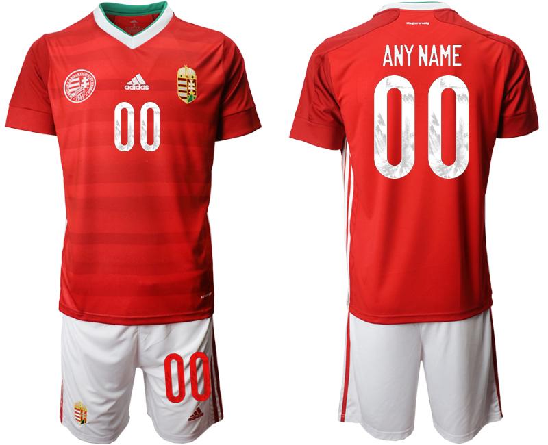 Hungary Customized Home UEFA Euro 2020 Soccer Jersey