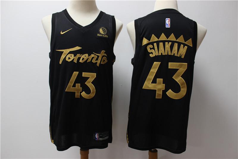 Raptors 43 Pascal Siakam Black 2019-20 City Edition Nike Swingman Jersey