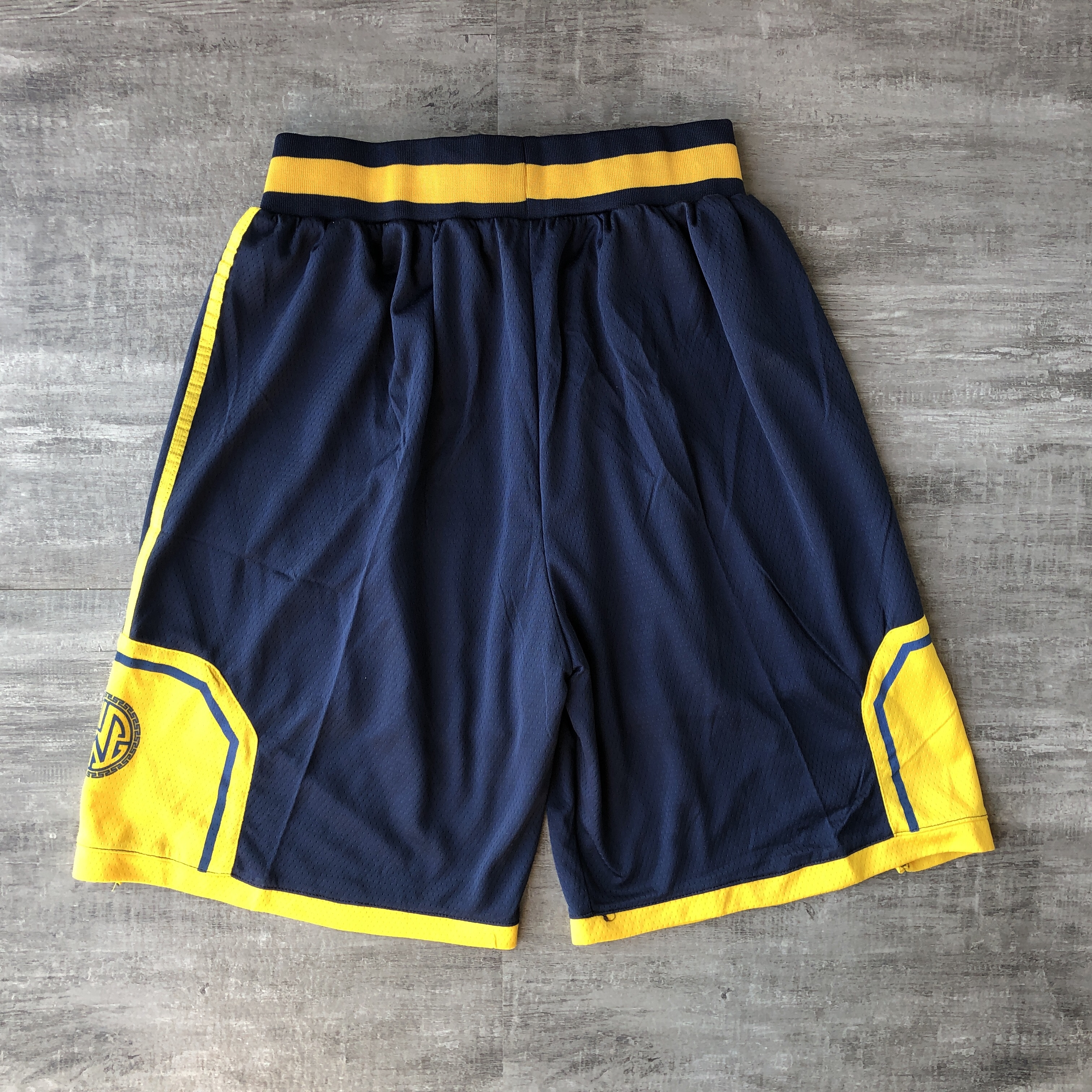 Warriors Navy 2019-20 City Edition Shorts