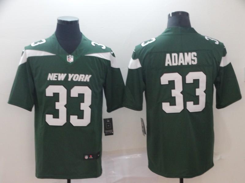Nike Jets 33 Jamal Adams Green New 2019 Vapor Untouchable Limited Jersey