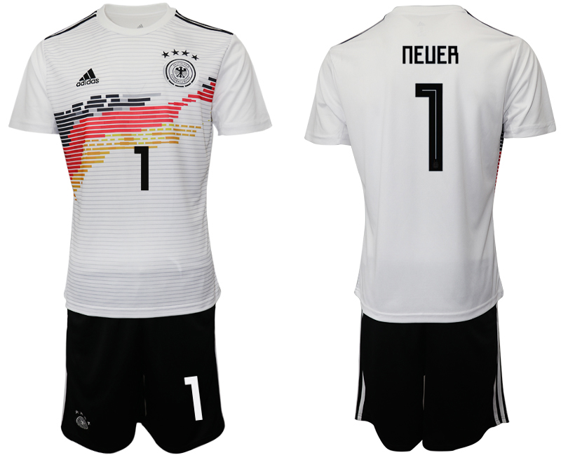 2019-20 Germany 1 NEUER Home Soccer Jersey