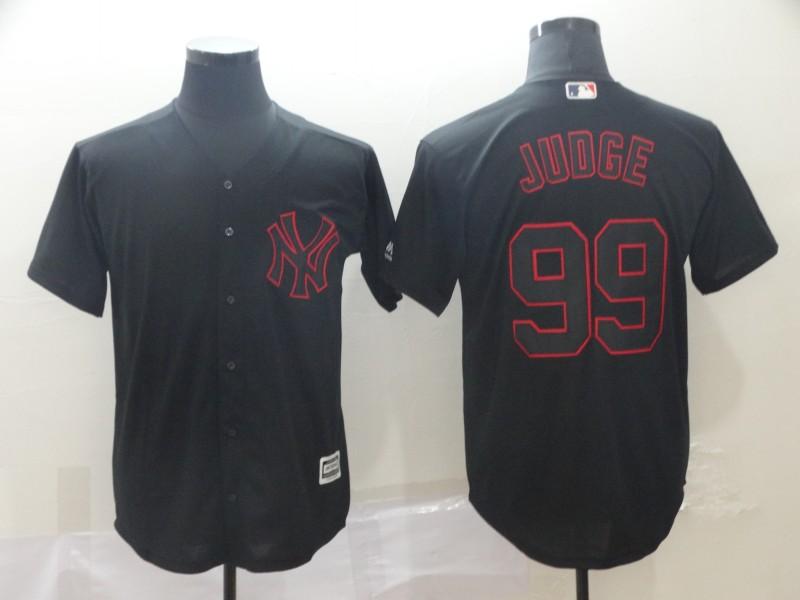 Yankees 99 Aaron Judge Black Shadow Legend Jersey