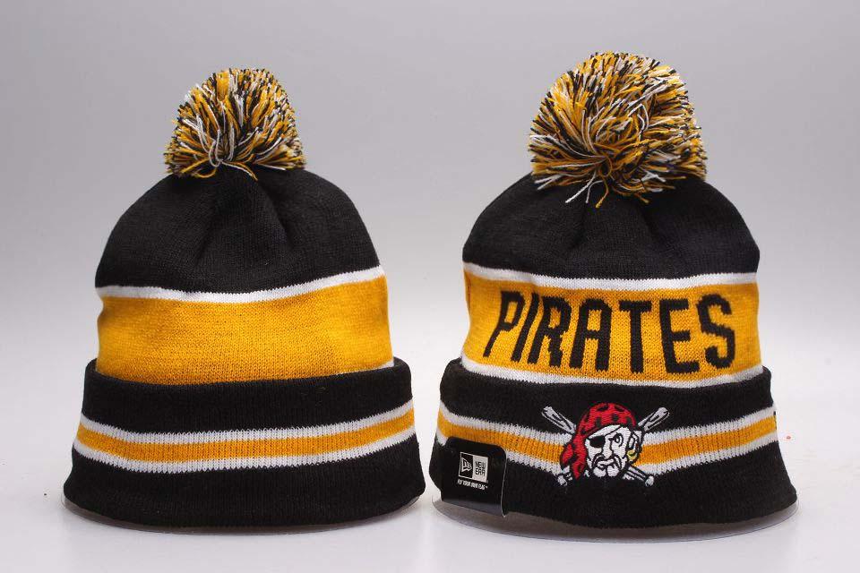 Pirates Team Logo Knit Hat YP