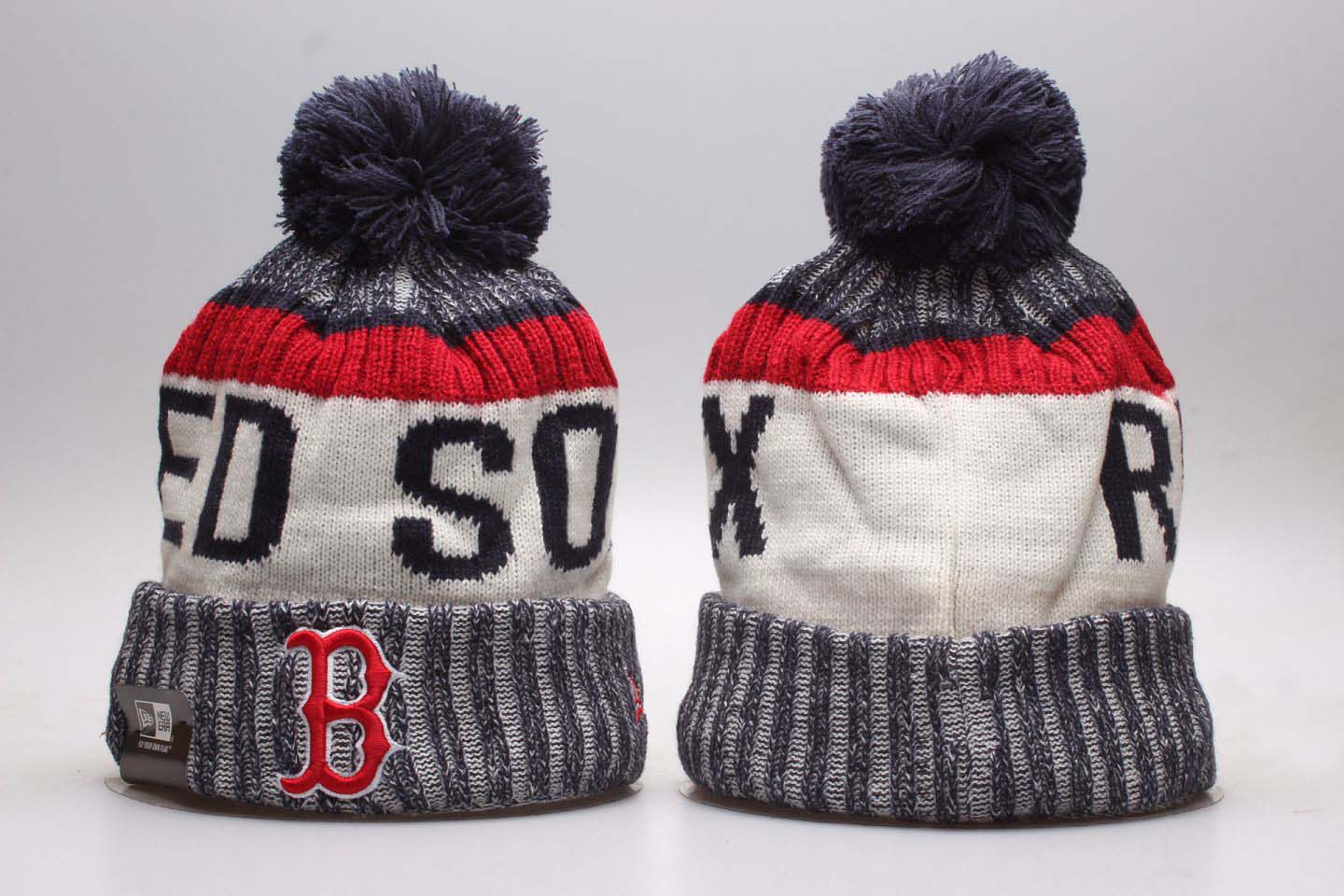 Red Sox Fresh Logo Fashion Knit Hat YP