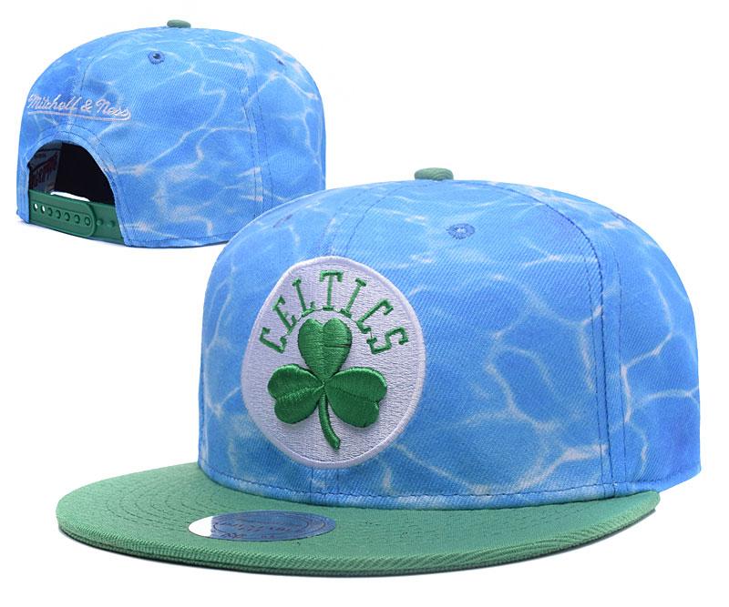 Celtics Team Logo Blue Green Adjustable Hat GS