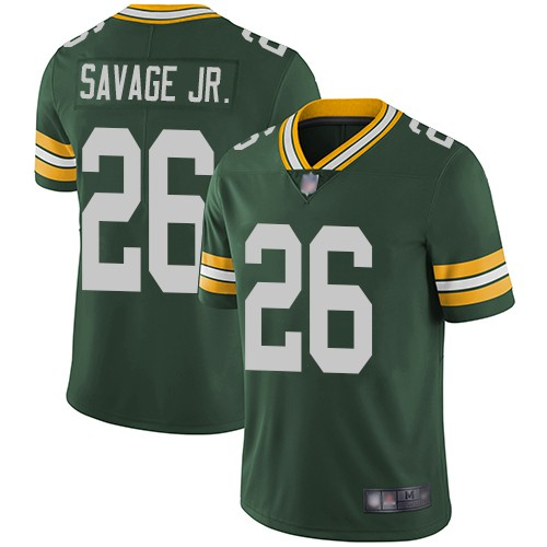 Nike Packers 26 Darnell Savage Jr. Green 2019 NFL Draft First Round Pick Vapor Untouchable Limited Jersey