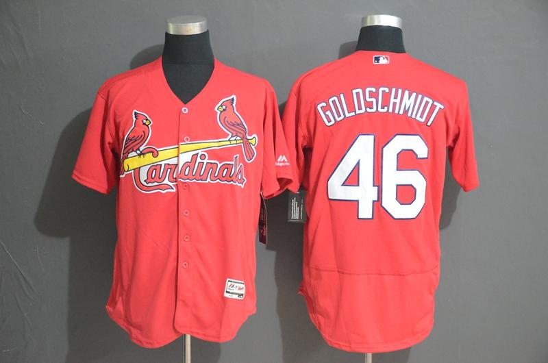 Cardinals 46 Paul Goldschmidt Red Flexbase Jersey