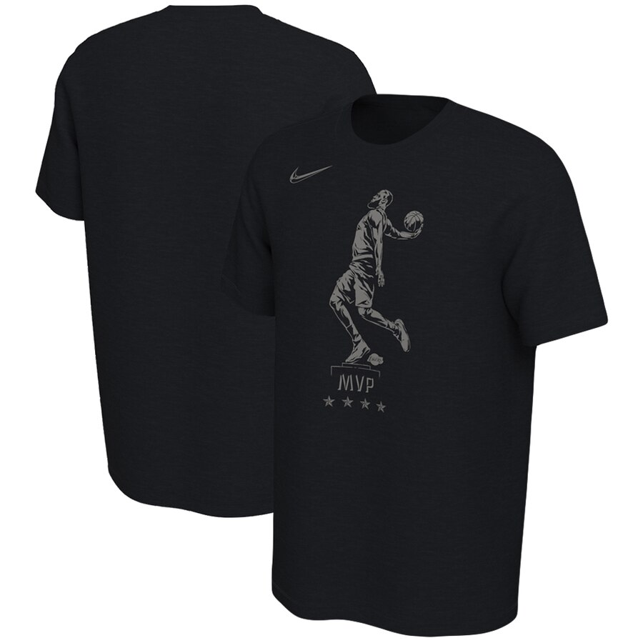 LeBron James Los Angeles Lakers Nike MVP Try Performance T-Shirt Black
