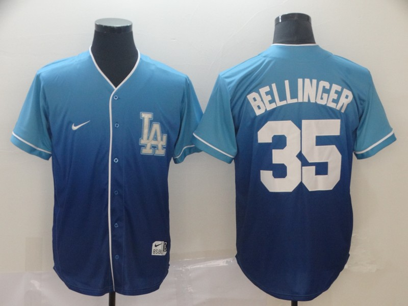 Dodgers 35 Cody Bellinger Blue Drift Fashion Jersey