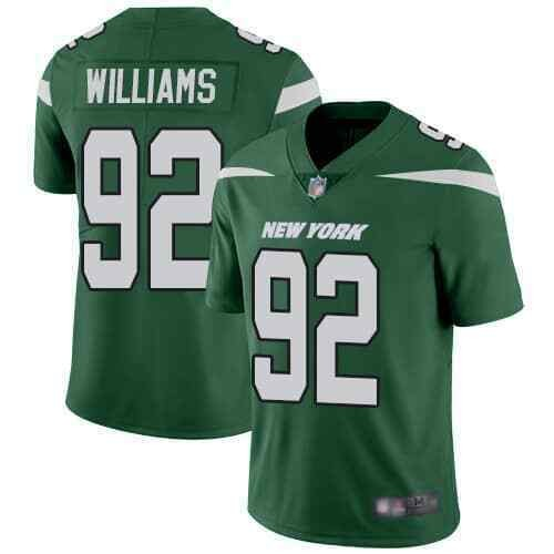 Nike Jets 92 Leonard Williams Green Youth New 2019 Vapor Untouchable Limited Jersey