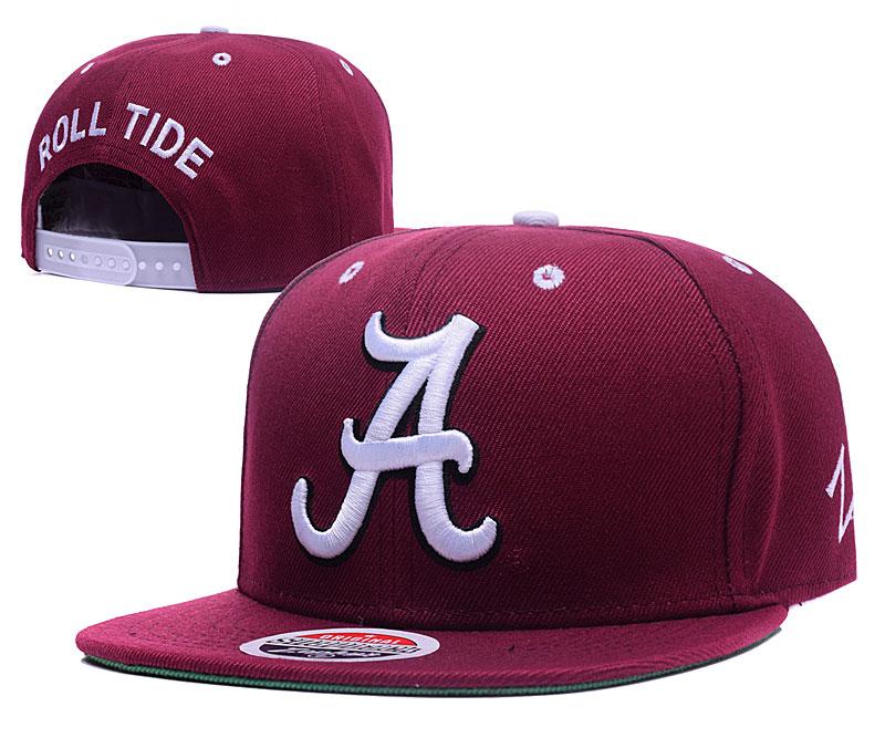 Alabama Crimson Tide Fresh Logo Burgundy Adjustable Hat GS