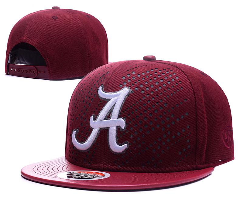 Alabama Crimson Tide Team Logo Burgundy Adjustable Hat GS