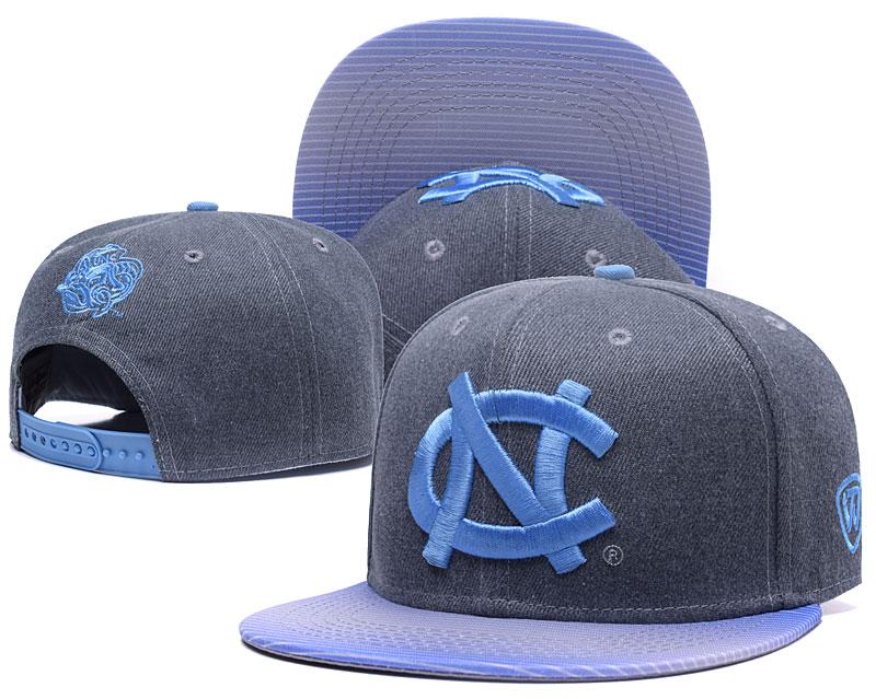 North Carolina Tar Heels Team Logo Gray Adjustable Hat GS