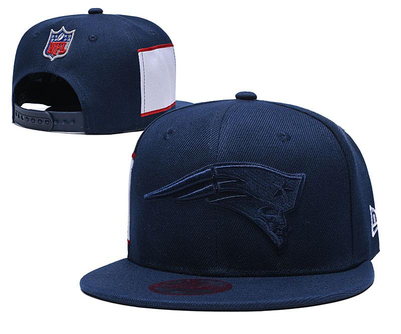 Patriots Team Logo Navy Adjustable Hat LT