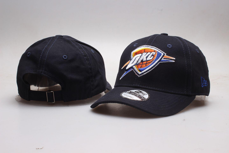 Thunder Team Logo Black Peaked Adjustable Hat YP