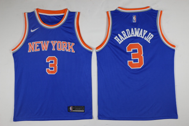 Knicks Tim Hardaway Jr. Royal Swingman Jersey