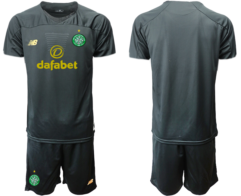 2019-20 Celtic Black Goalkeeper Soccer Jersey