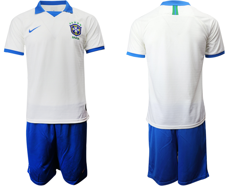 2019-20 Brazil White Special Edition Soccer Jersey