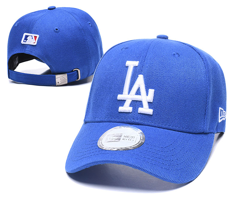 Dodgers Fresh Logo Royal Peaked Adjustable Hat TX
