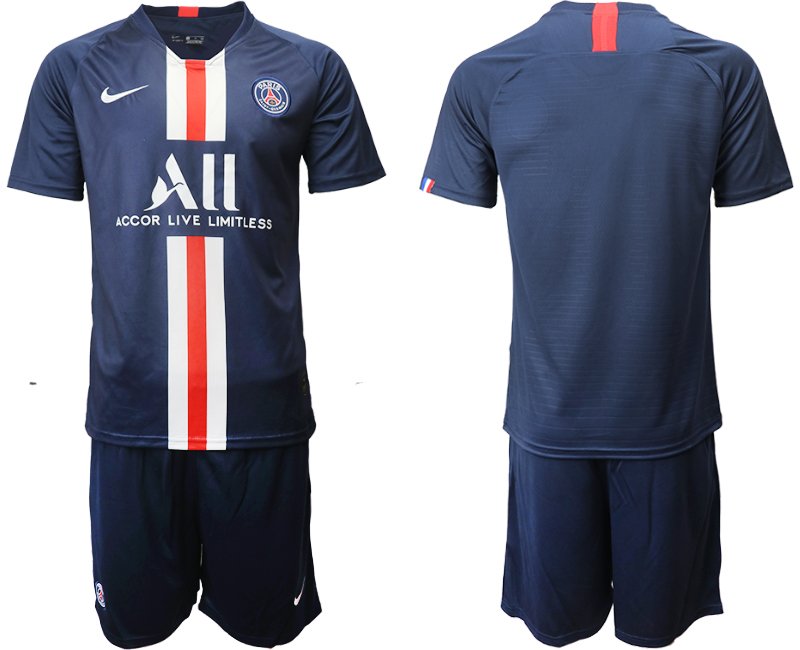 2019-20 Paris Saint-Germain Home Soccer Jersey