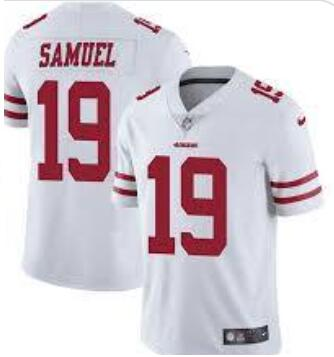 Nike 49ers 19 Deebo Samuel White Vapor Untouchable Limited Jesey