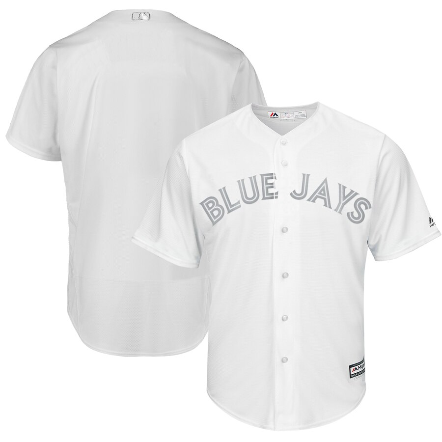 Blue Jays Blank White 2019 Players' Weekend Player Jersey