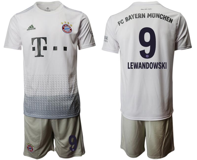 2019-20 Bayern Munich 9 LEWANDOWSKI Away Soccer Jersey