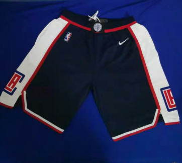 Clippers Black Swingman Shorts