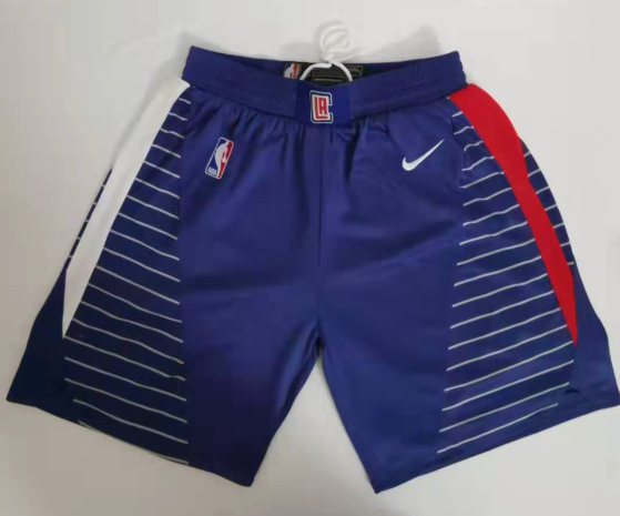 Clippers Blue Swingman Shorts