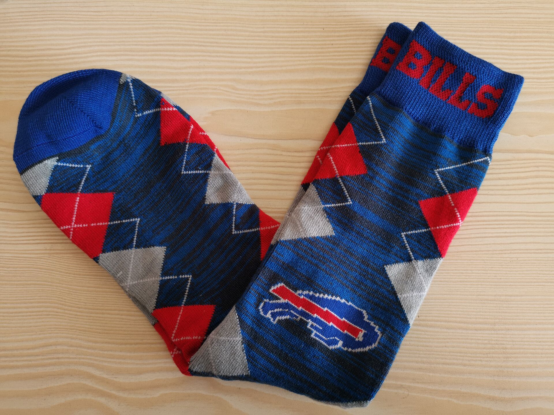 Buffalo Bills Team Logo NFL Socks