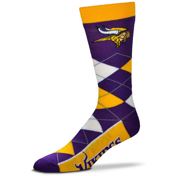 Minnesota Vikings Team Logo NFL Socks