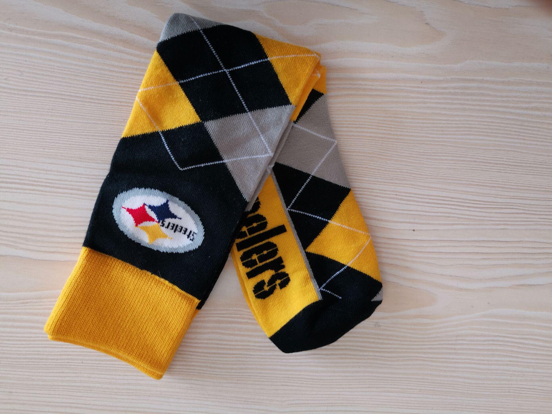 Pittsburgh Steelers Team Logo NFL Socks