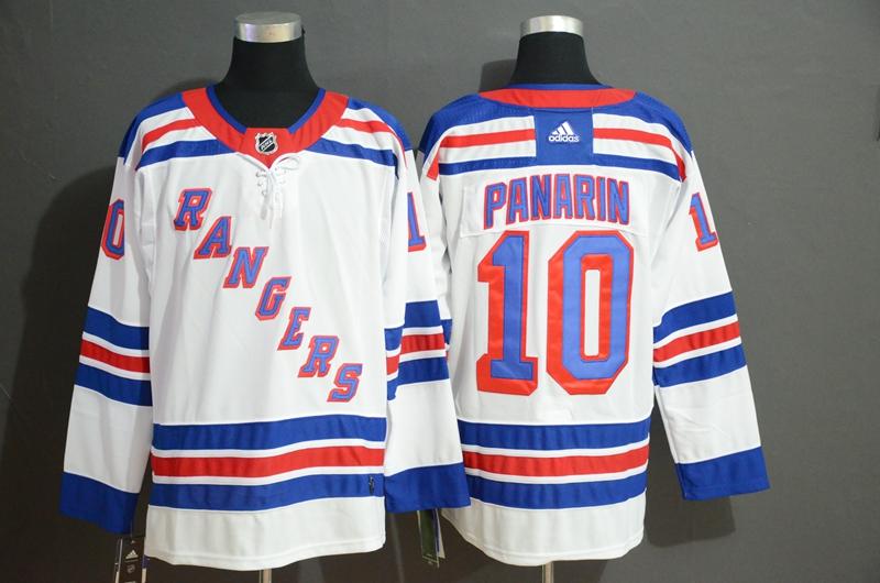 Rangers 10 Artemi Panarin White Adidas Jersey