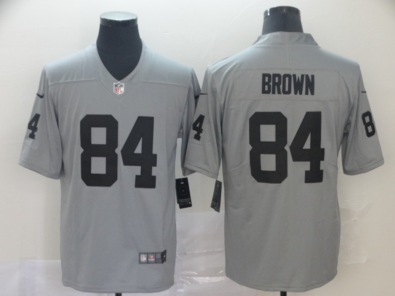 Nike Raiders 84 Antonio Brown Gary Inverted Legend Limited Jersey