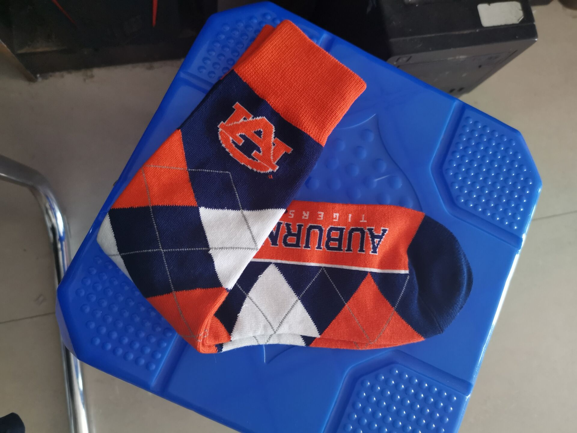 Auburn Tigers Team Logo NCAA Socks