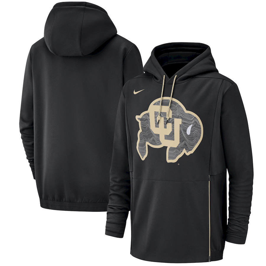 Colorado Buffaloes Nike Champ Drive Performance Pullover Hoodie Black