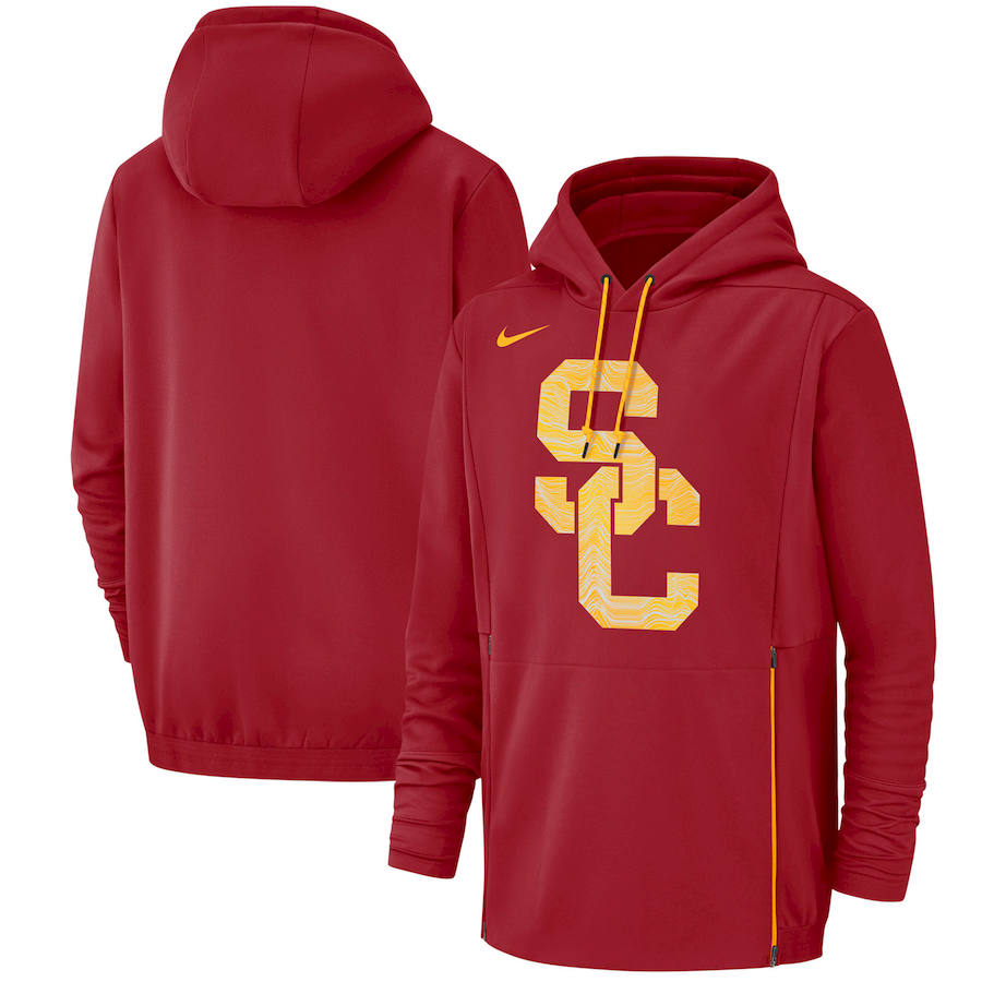 USC Trojans Nike Champ Drive Performance Pullover Hoodie Cardinal
