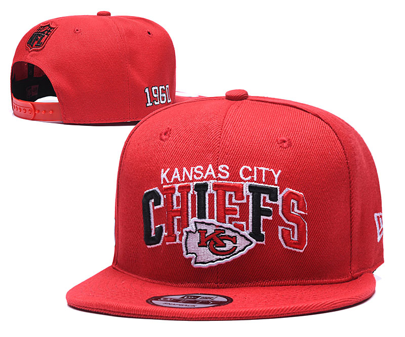 Chiefs Team Logo Red 1960 Anniversary Adjustable Hat YD