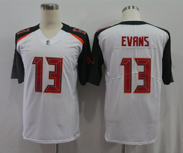 Nike Buccaneers 13 Mike Evans White Vapor Untouchable Limited Jersey