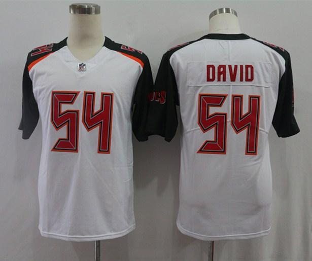 Nike Buccaneers 54 Lavonte David White Vapor Untouchable Limited Jersey