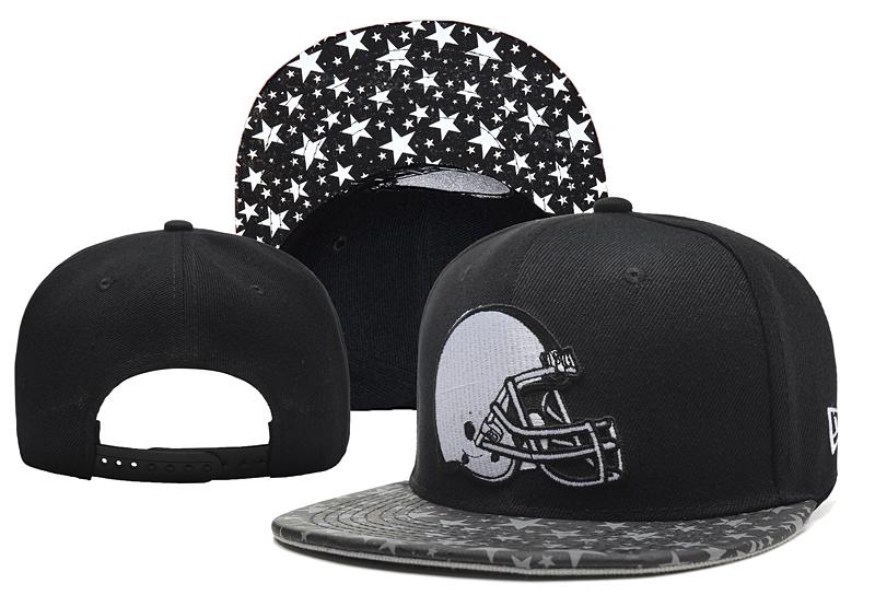 Browns Team Logo Black Camo Adjustable Hat YD