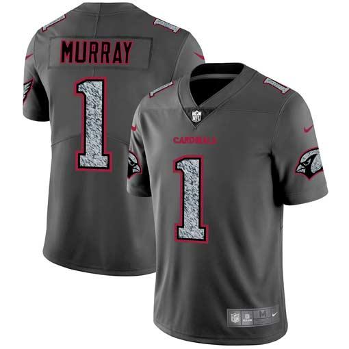 Nike Cardinals 1 Kyler Murray Gray Camo Vapor Untouchable Limited Jersey