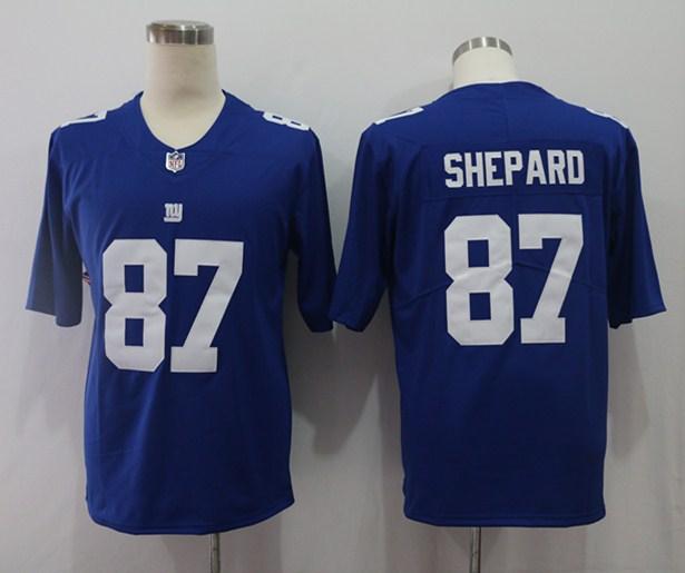 Nike Giants 87 Sterling Shepard Royal Vapor Untouchable Limited Jersey