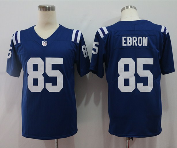 Nike Colts 85 Eric Ebron Royal Vapor Untouchable Limited Jersey