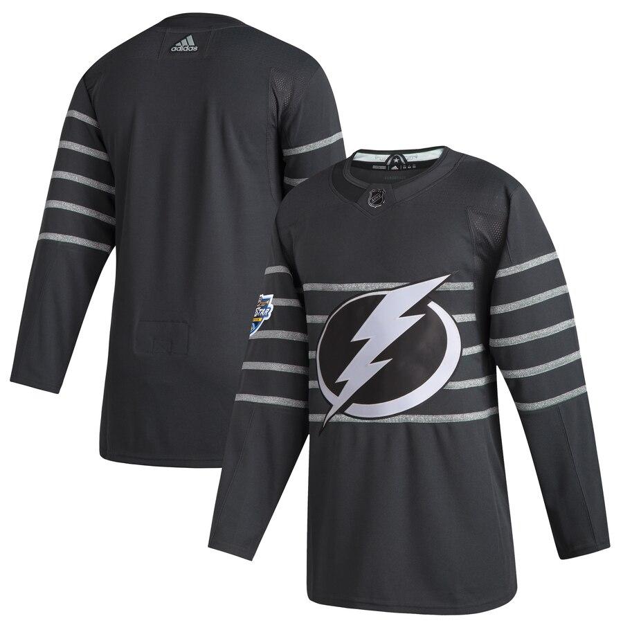 Lightning Blank Gray 2020 NHL All-Star Game Adidas Jersey