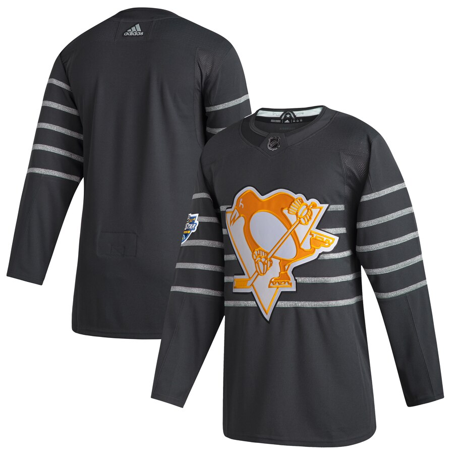 Penguins Blank Gray 2020 NHL All-Star Game Adidas Jersey