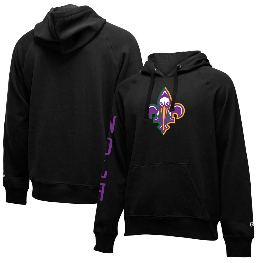 New Orleans Pelicans New Era 2019-20 City Edition Pullover Hoodie Black